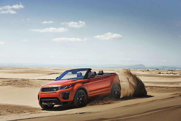 Range Rover Evoque: Open-top off-roader