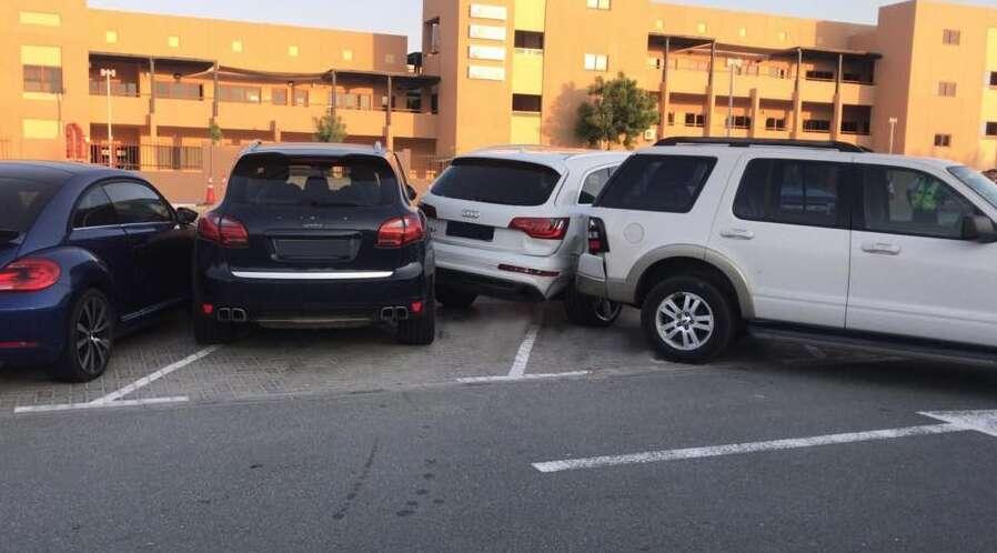 Dubai police, road accident, mother injured, child dies outside dubai school