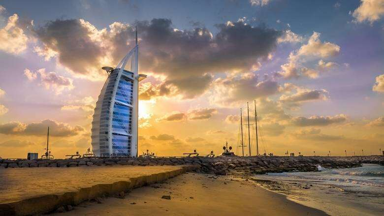 uae, weather, national center of meteorology, humid, humidity, sunny, cloud, parts, partly cloudy