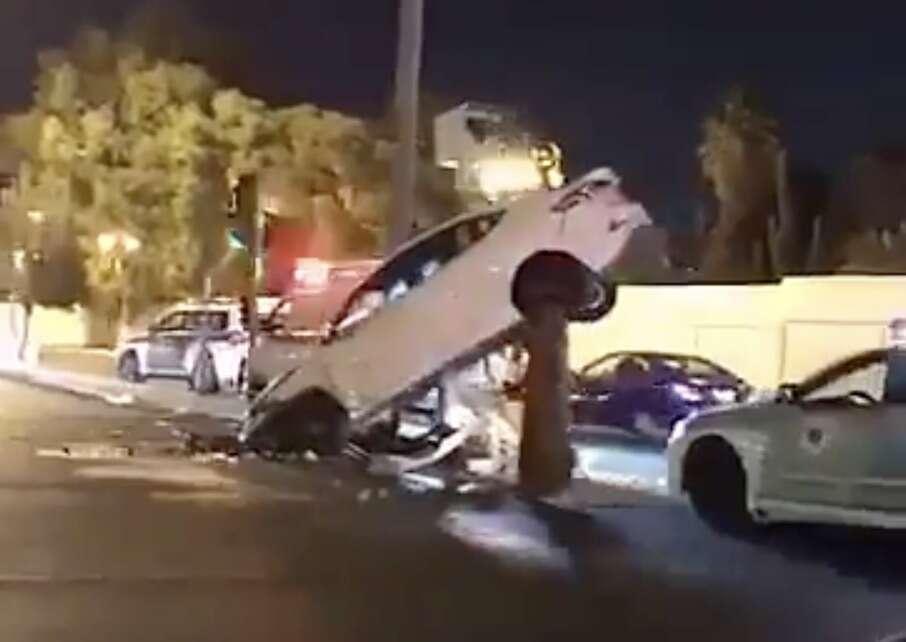 Video: Saudi Police deny woman driver behind horrific car crash