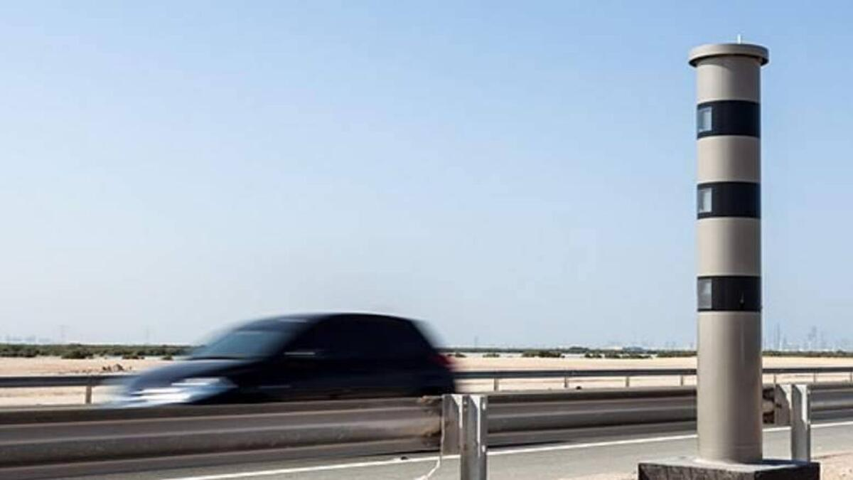 Dh1,000 fine: UAE radars to catch sudden swerves
