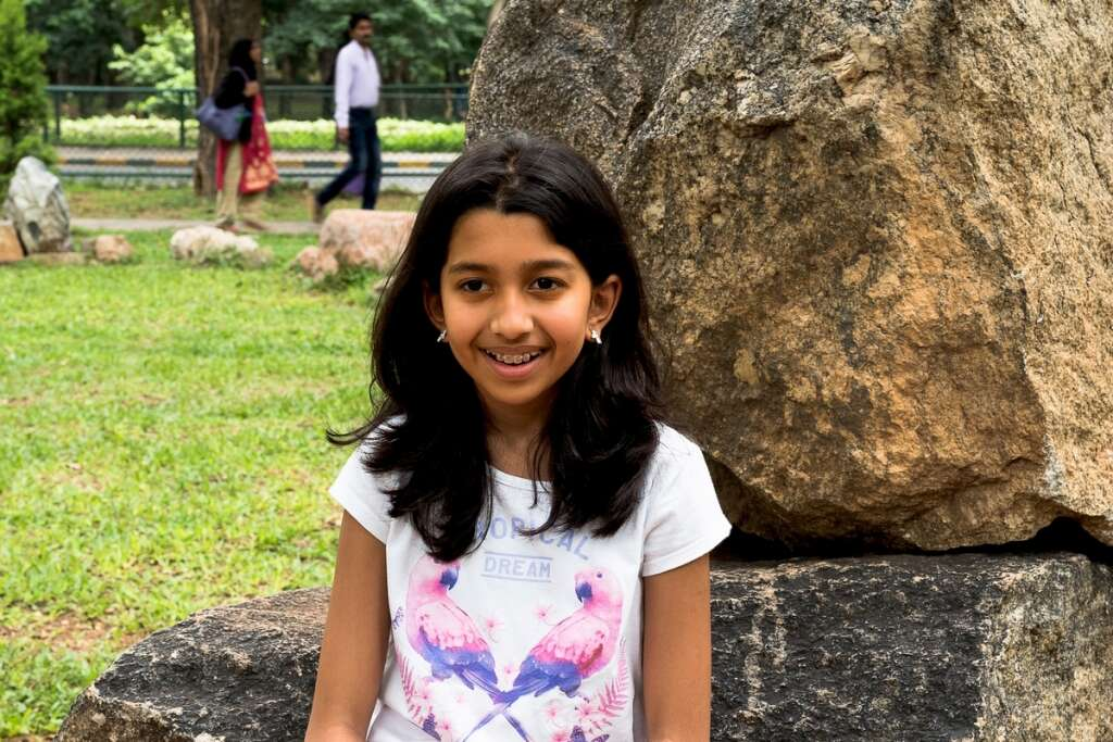 Young eco-warrior fights for the planet in Dubai