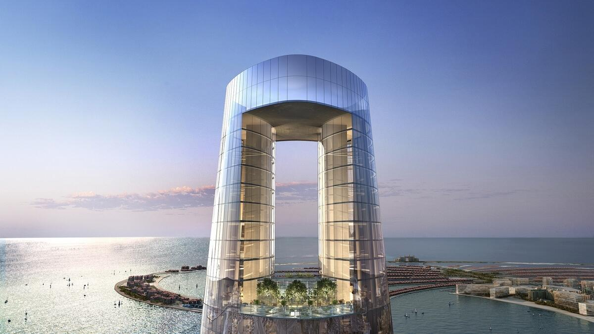 Designed by architect firm Norr and developed by The First Group, Ciel Tower will be the tallest hotel upon its completion in 2023 with a height of 360 metres. Located in Dubai Marina, the hotel will house 1,042 suites upon completion.