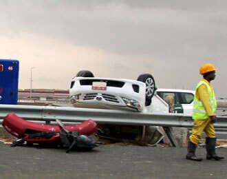 Dubai records 756 accidents in eight hours