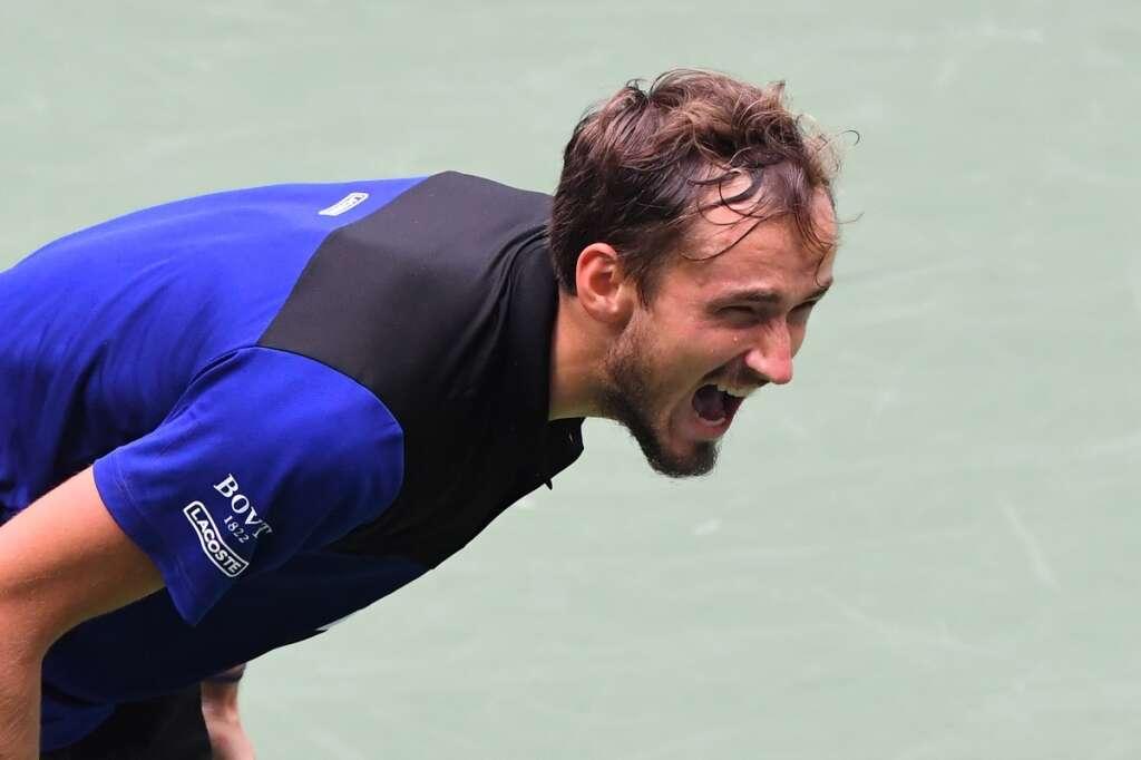 Daniil Medvedev, beats, andrey rublev, us open, quarter-finals