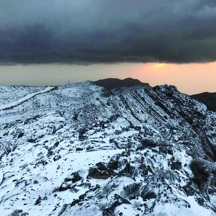 Watch: Snowfall in UAE, temperature hits -2.2 degree