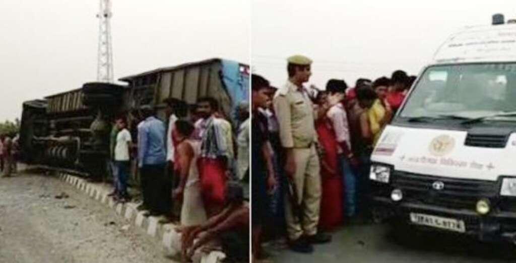 16 dead as speeding tourist bus overturns in India