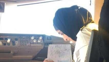 Dubai royal familys first woman pilots maiden flight