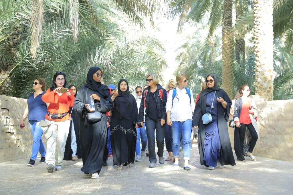 Sand Sisters revive ancient desert trek in UAE