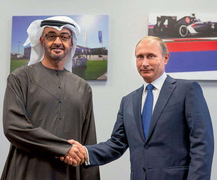 Putin welcomes opportunity to talk with Gulf Arab leaders