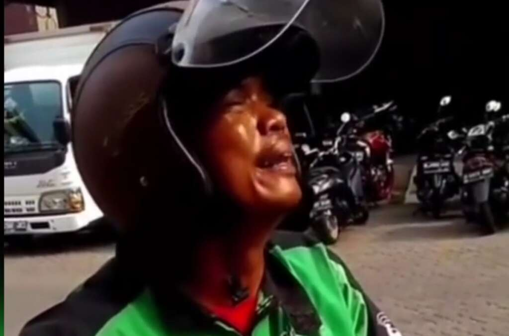 motorbike taxi driver, Delivery man, home Delivery