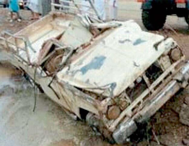 Body of man swept away by rainwater found in RAK