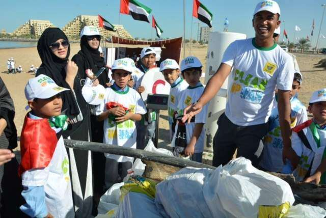 Clean up UAE campaign reaches city of Ras Al Khaimah