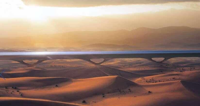 Dubai-Abu Dhabi 12-minute Hyperloop by 2020