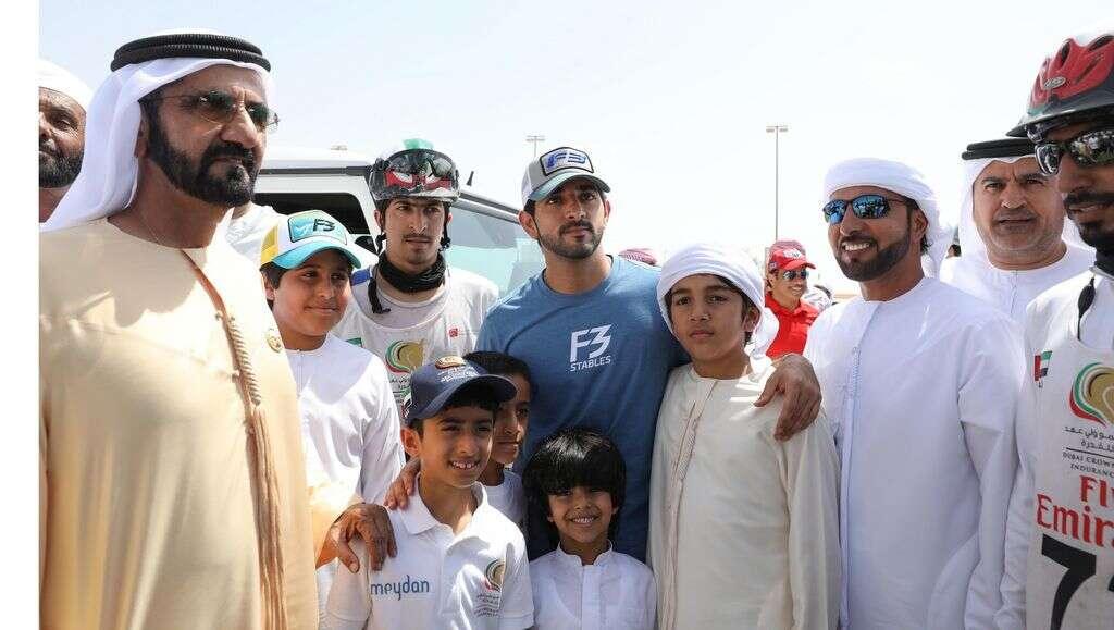 Horse racing: Sheikh Mohammed and Sheikh Hamdan attend Dubai Crown Prince Endurance