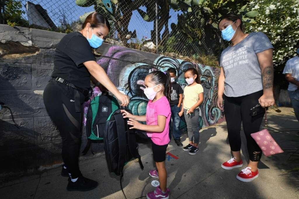 Coronavirus cases, US schools