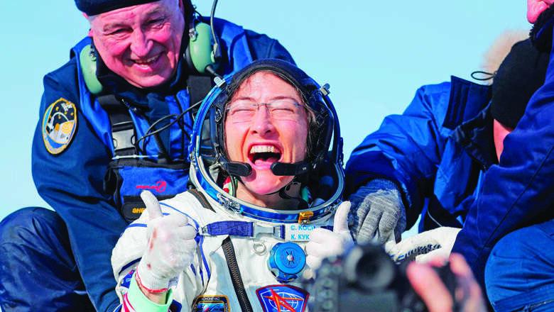 nasa, astronaut, koch, female, space, record