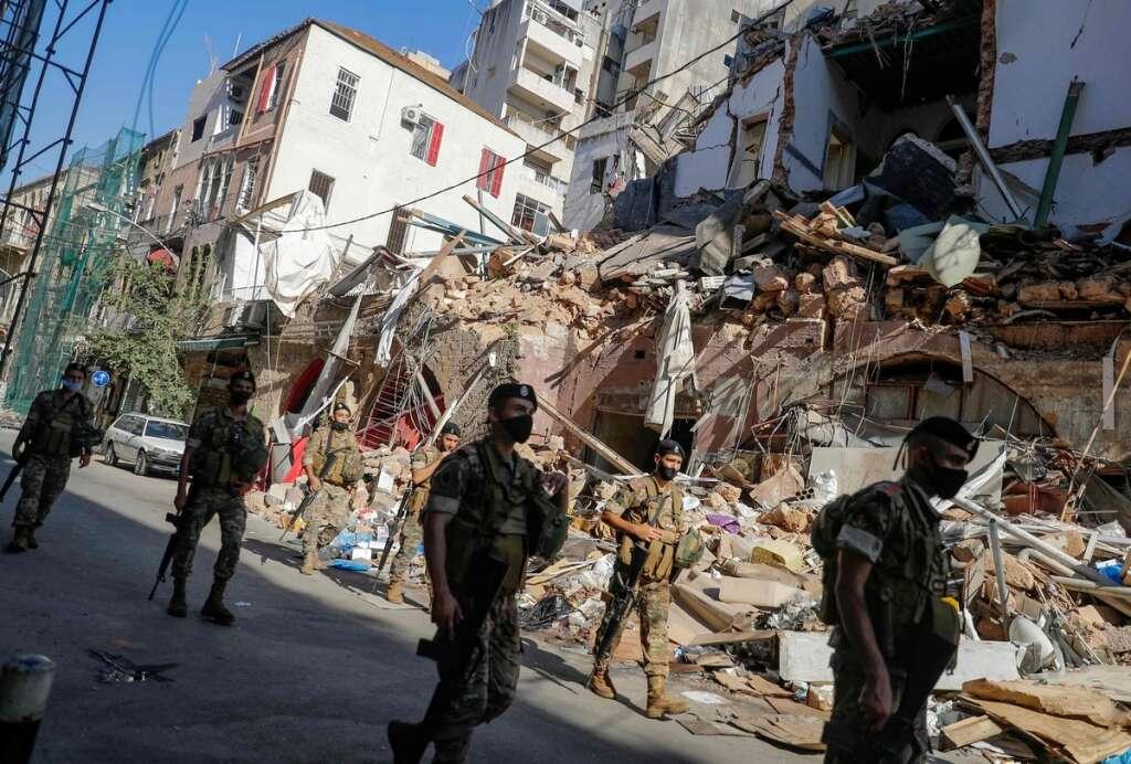 Lebanese army, Beirut port, 188 dead