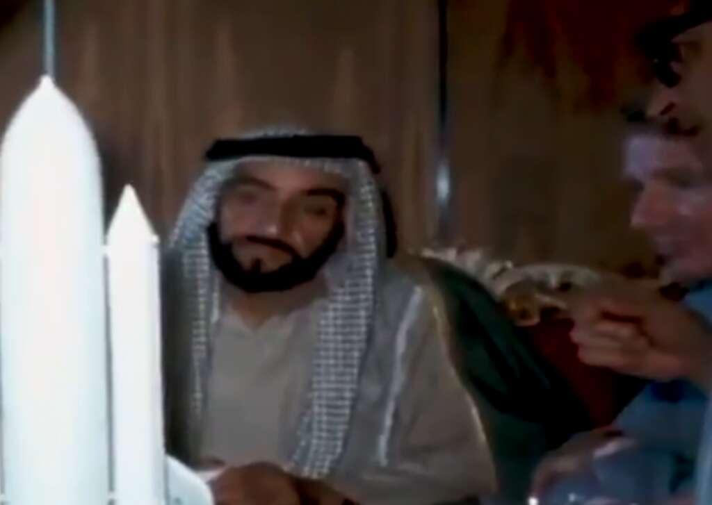 Sheikh Zayed, viral, UAE's Mars probe