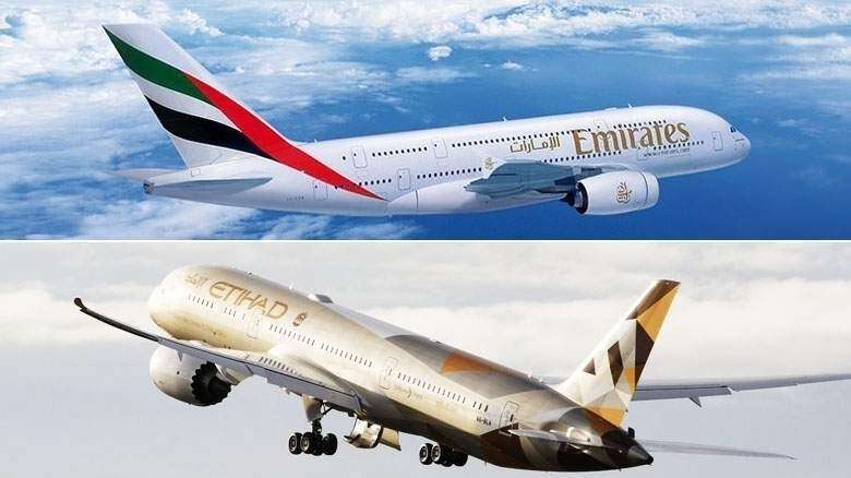 Emirates, Etihad flights, Manila, lava, volcano, Manila international airport