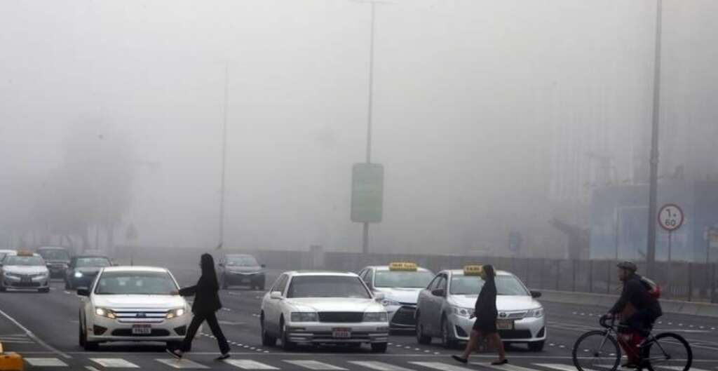 Weather: Fog covers parts of UAE, poor visibility warning issued