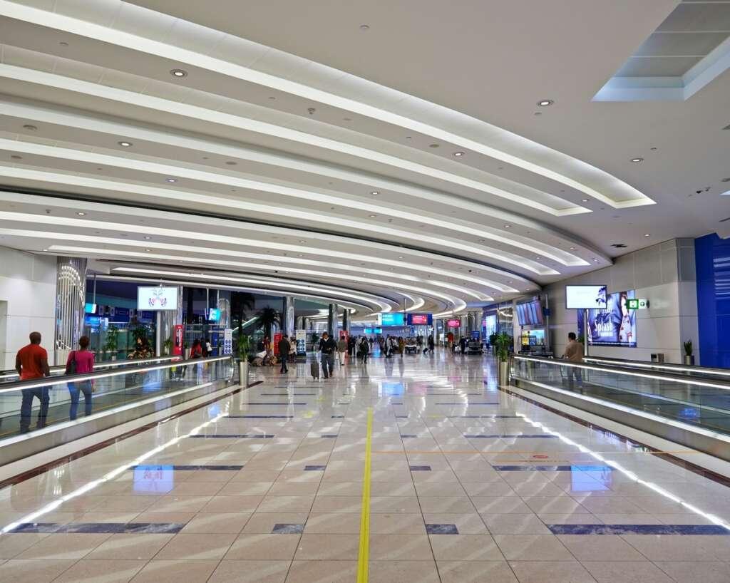 covid-19, coronavirus, negative test, dubai airport, Emirates plane