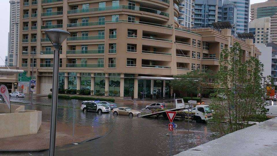 Dubai sees 253 road accidents in 7 hours due to rain