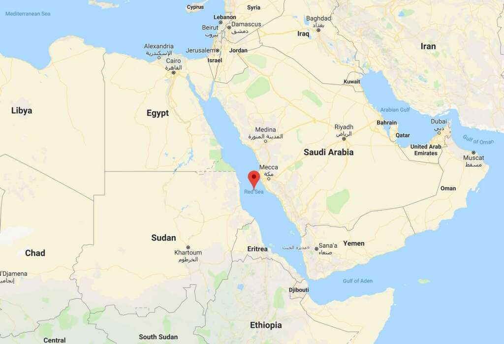 Uae slams houthi threat to block red sea traffic khaleej times google map gumiabroncs Image collections