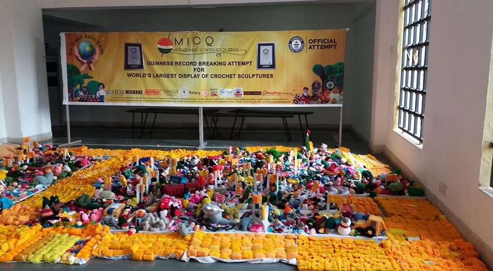 Dubai crochet queens help knit a world record