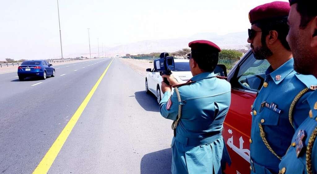 Driver, reckless driver, UAE road, speeding, fine