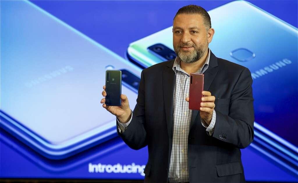 Samsung's quad-camera phone to hit UAE shelves this week