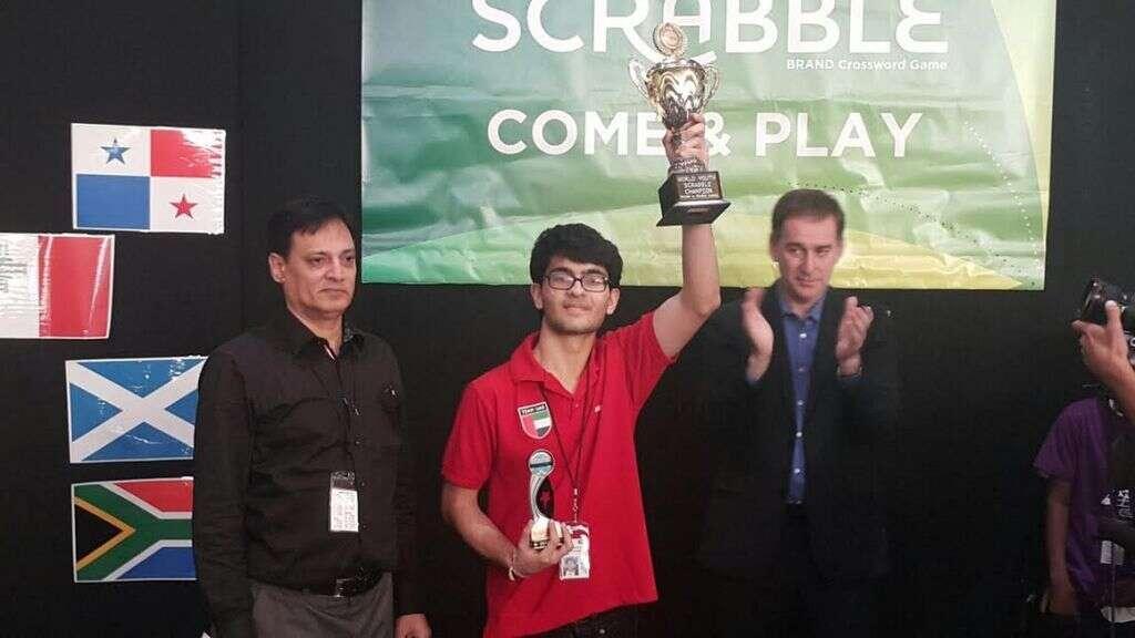 WATCH: Dubai teen Sanchit Kapoor wins World Youth Scrabble Championship