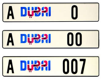 Rta To Roll Out New Number Plates Starting With Zero News