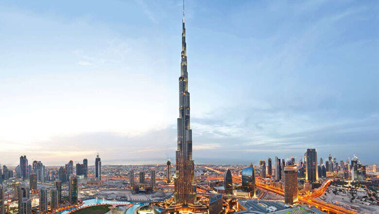Display your artwork, designs on Burj Khalifas facade