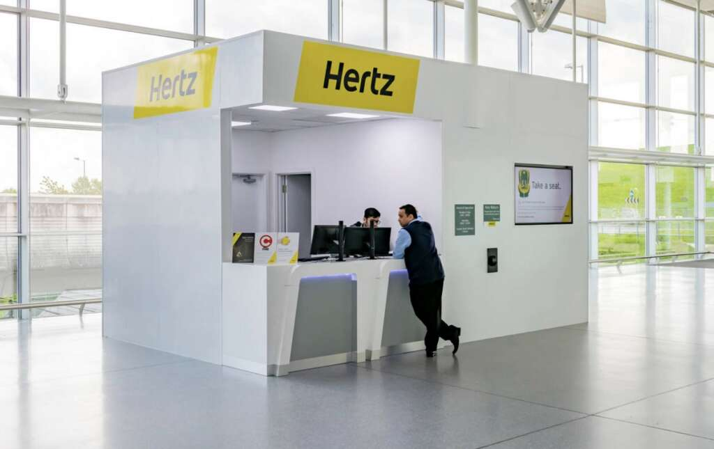 Hertz UAE, not affected, collapse, US parent group