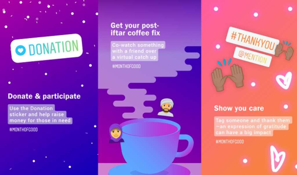 Ramadan, MonthofGood initiative, Instagram