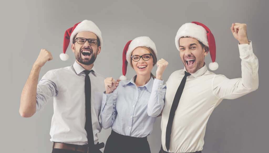 Christmas party at work? Just go