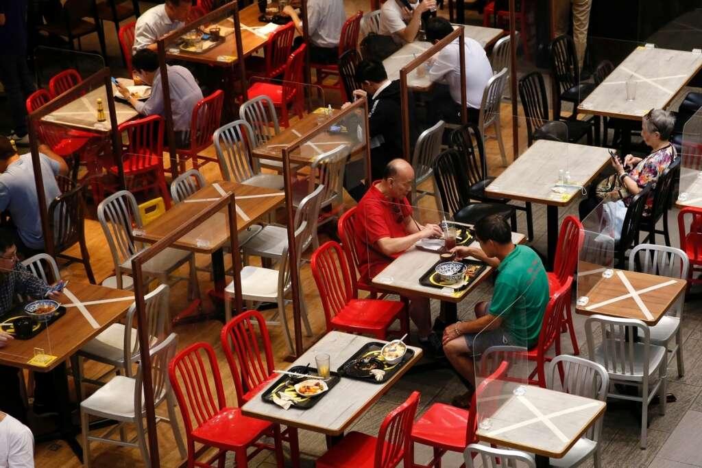 Hong Kong, restaurant, coronavirus, dining, mandatory