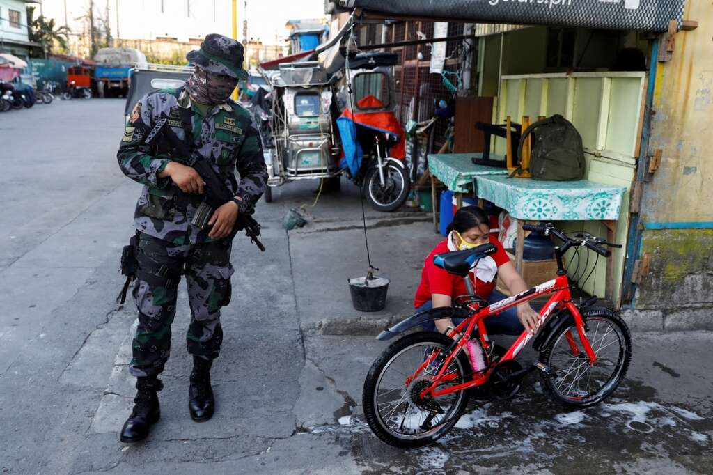 Philippines, police, fear, involvement, coronavirus, Covid-19, Manila, Navotas