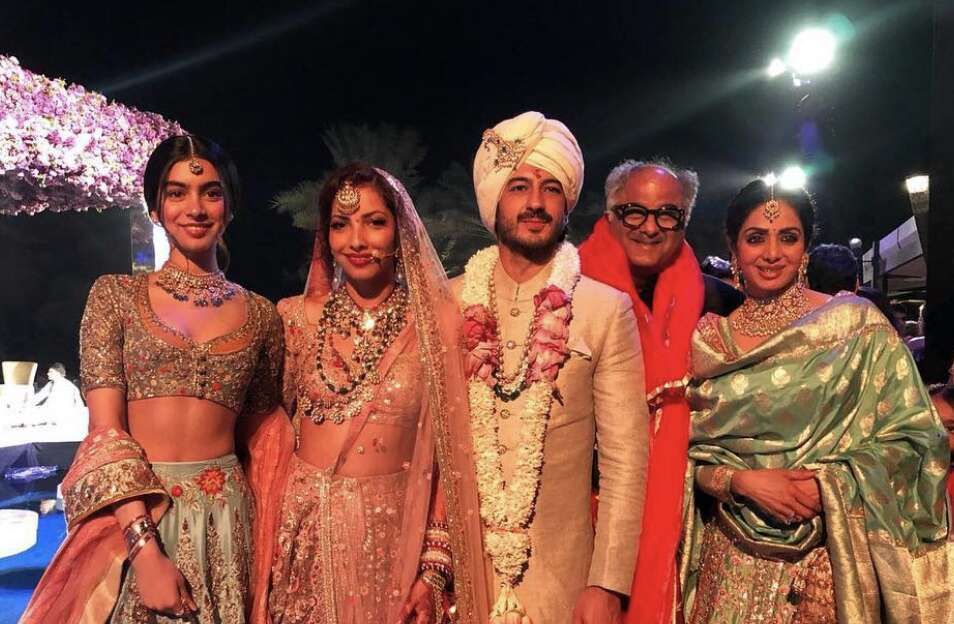 Last pictures of Sridevi from Mohit Marwahs wedding in Dubai