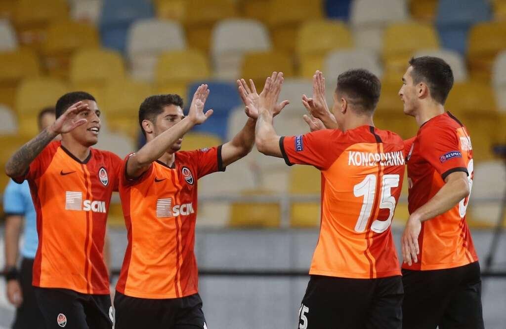 Europa League returns as Shakhtar, Copenhagen reach quarterfinals