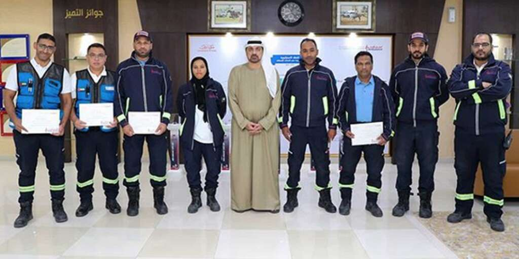 Dubai paramedics, expat