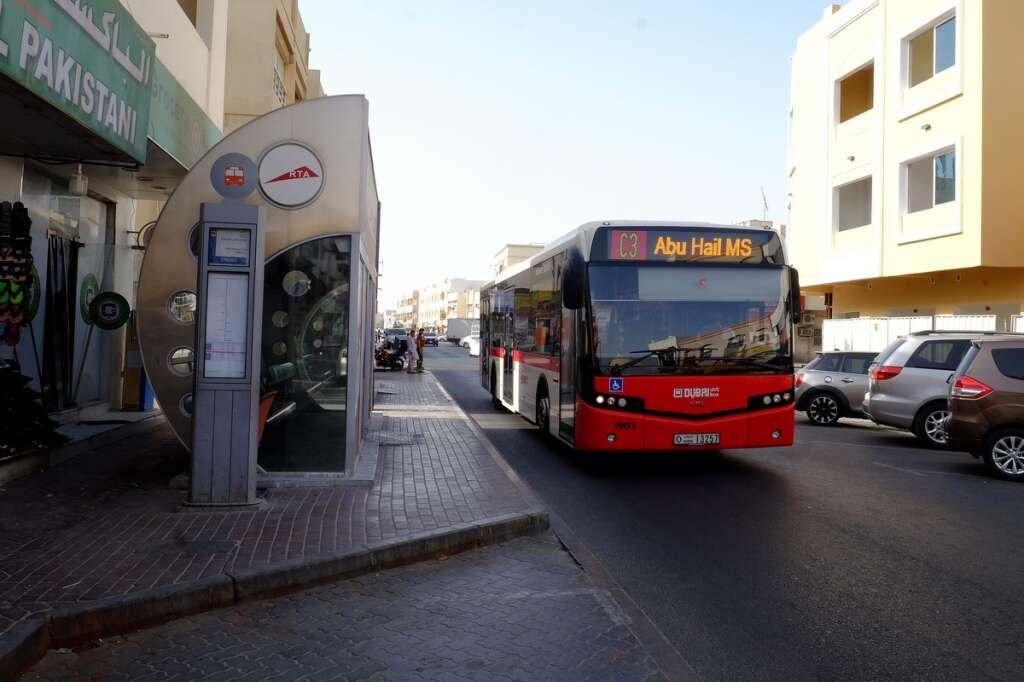 Google Maps, show, live updates, Dubai, bus timings