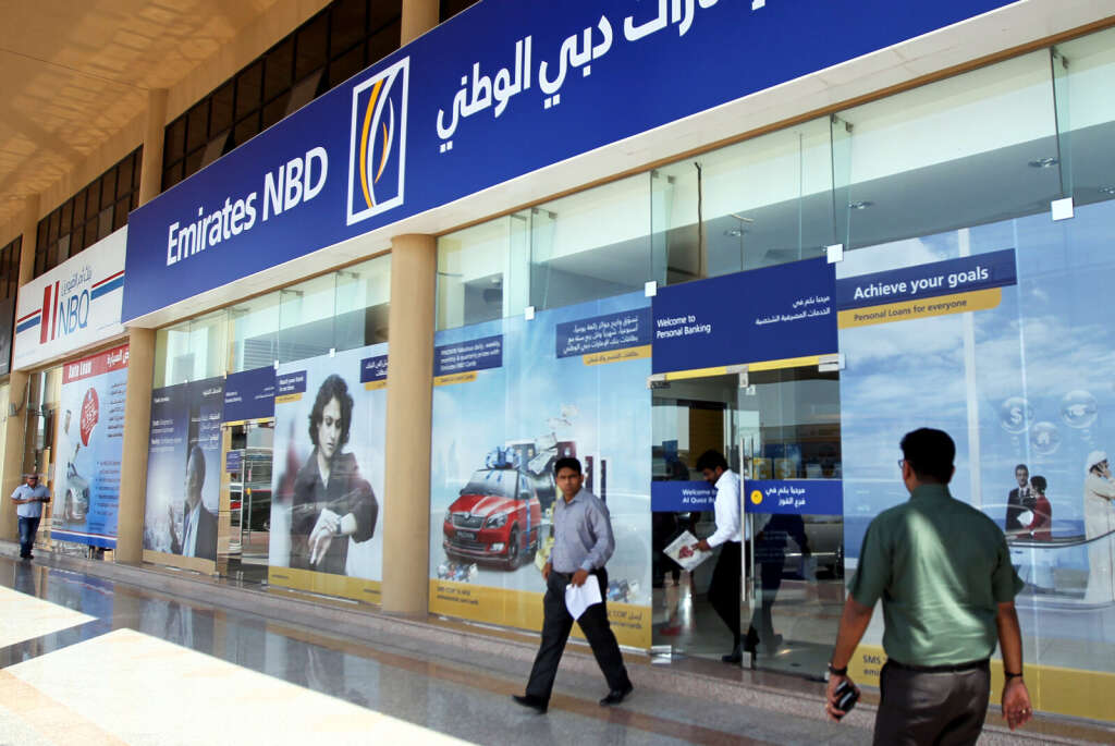 Emirates NBD's valuation was up 23 per cent from 2015.