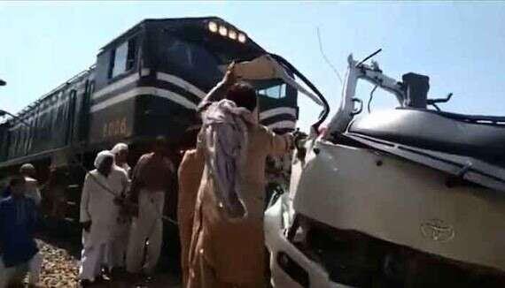 Pakistan, train accident, Sikh pilgrims