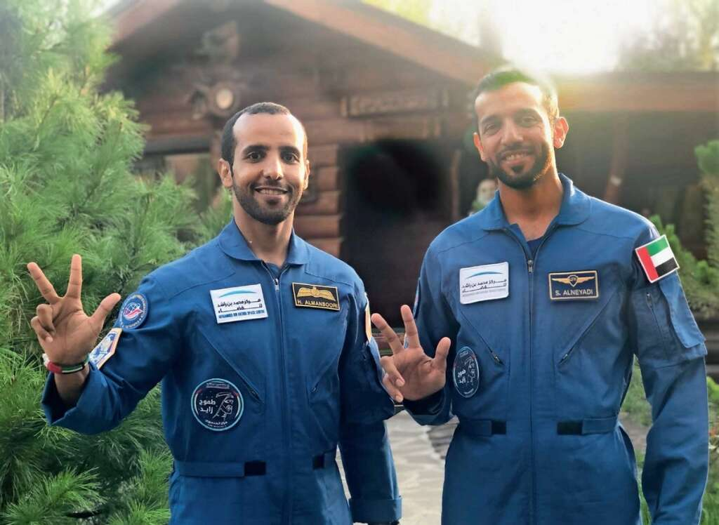 Can't wait to float my way at space station: Emirati