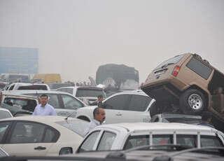 Abu Dhabi crash involving 127 vehicles