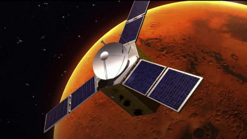 UAE, Hope probe, first step, city, Mars