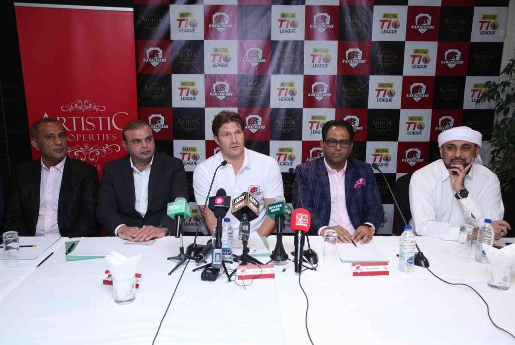 Watson joins Team Karachians for T10 Cricket League