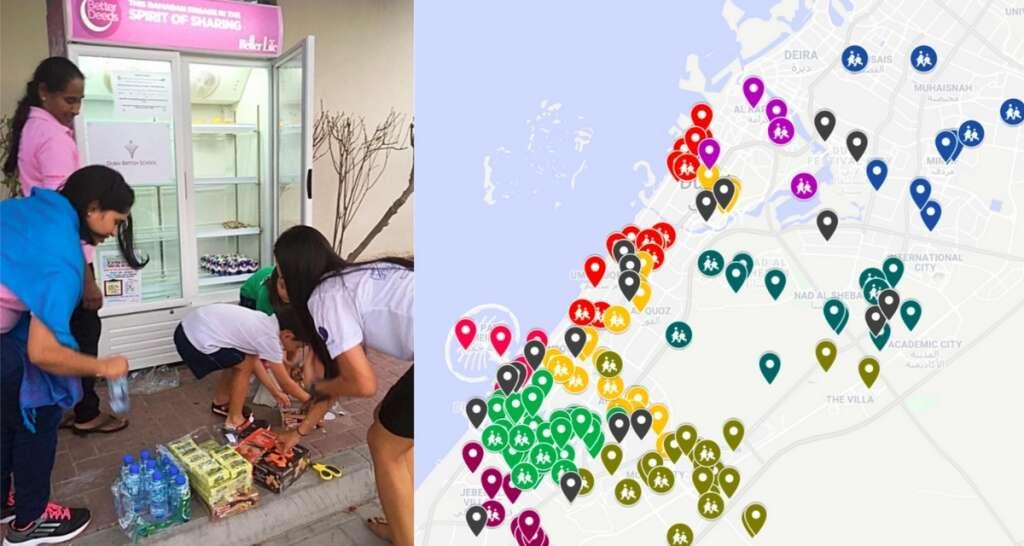 Where to find Ramadan sharing fridges in Dubai